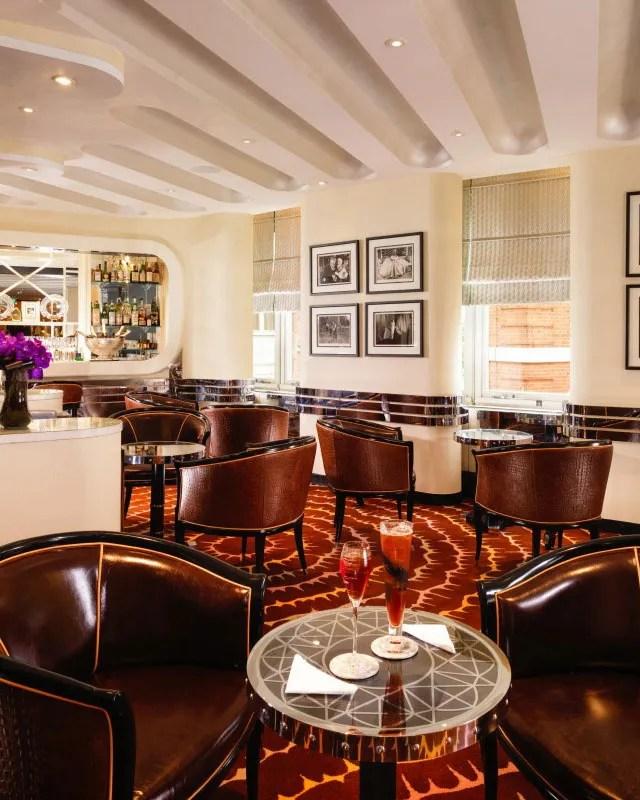 American Bar At The Savoy London England United Kingdom