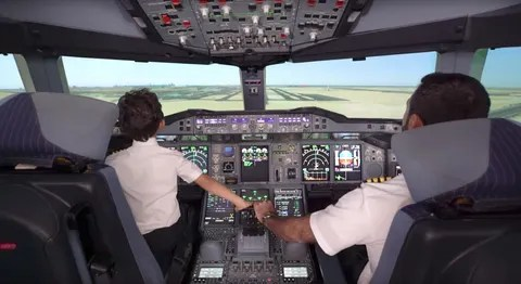 Image result for 6 year old etihad pilot