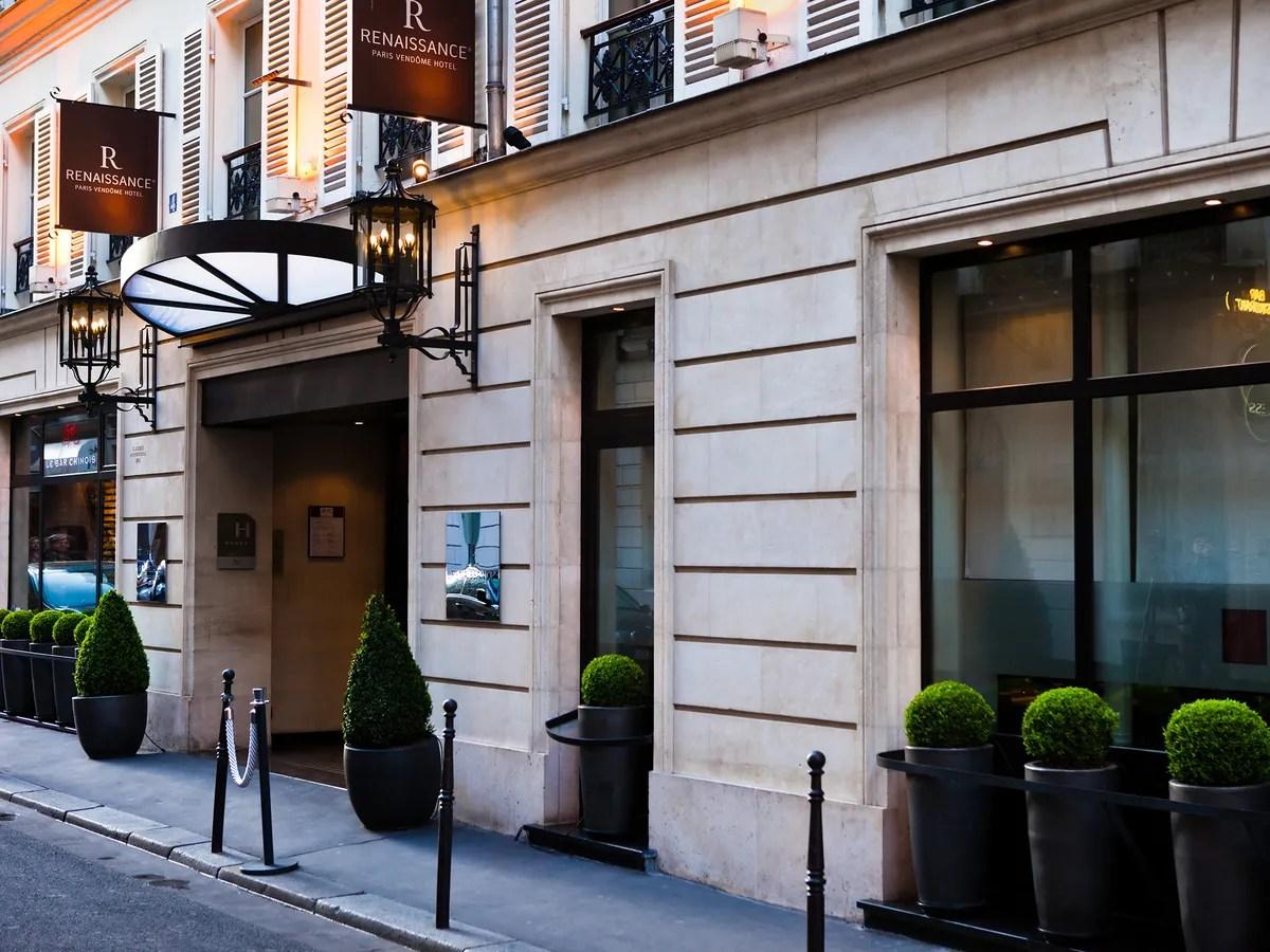 Renaissance Paris Vendome Hotel France