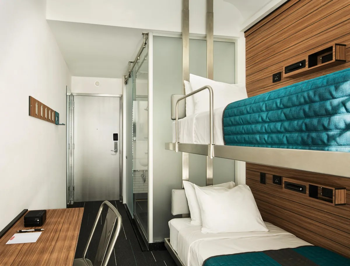Pod Hotel Brings 85 Rooms Times Square - Cond Nast