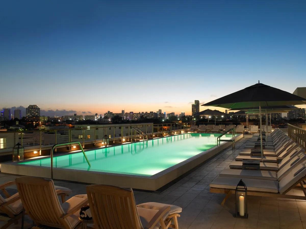 Hotel Pools In Miami - Cond Nast Traveler
