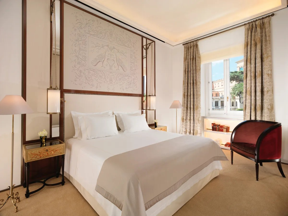 Hotel Eden Rome Italy  Hotel Review  Cond Nast Traveler