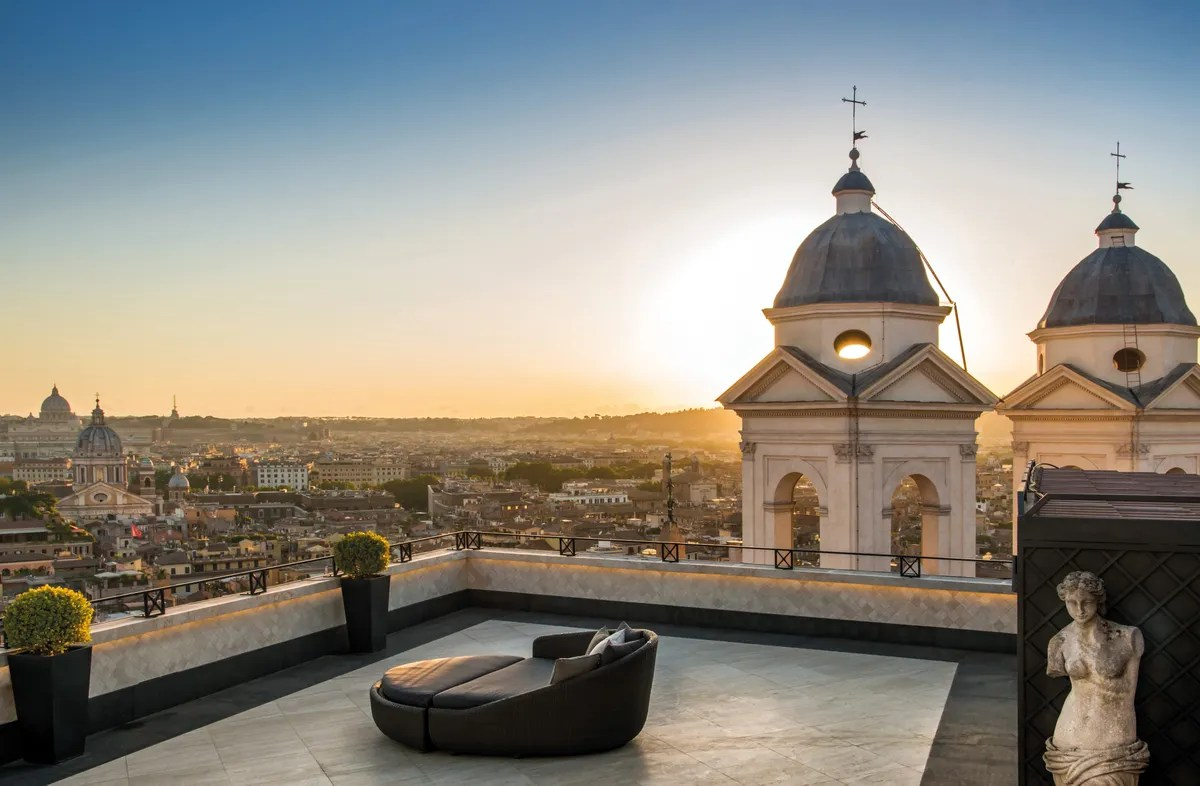 Hassler Roma  Hotel Review  Cond Nast Traveler