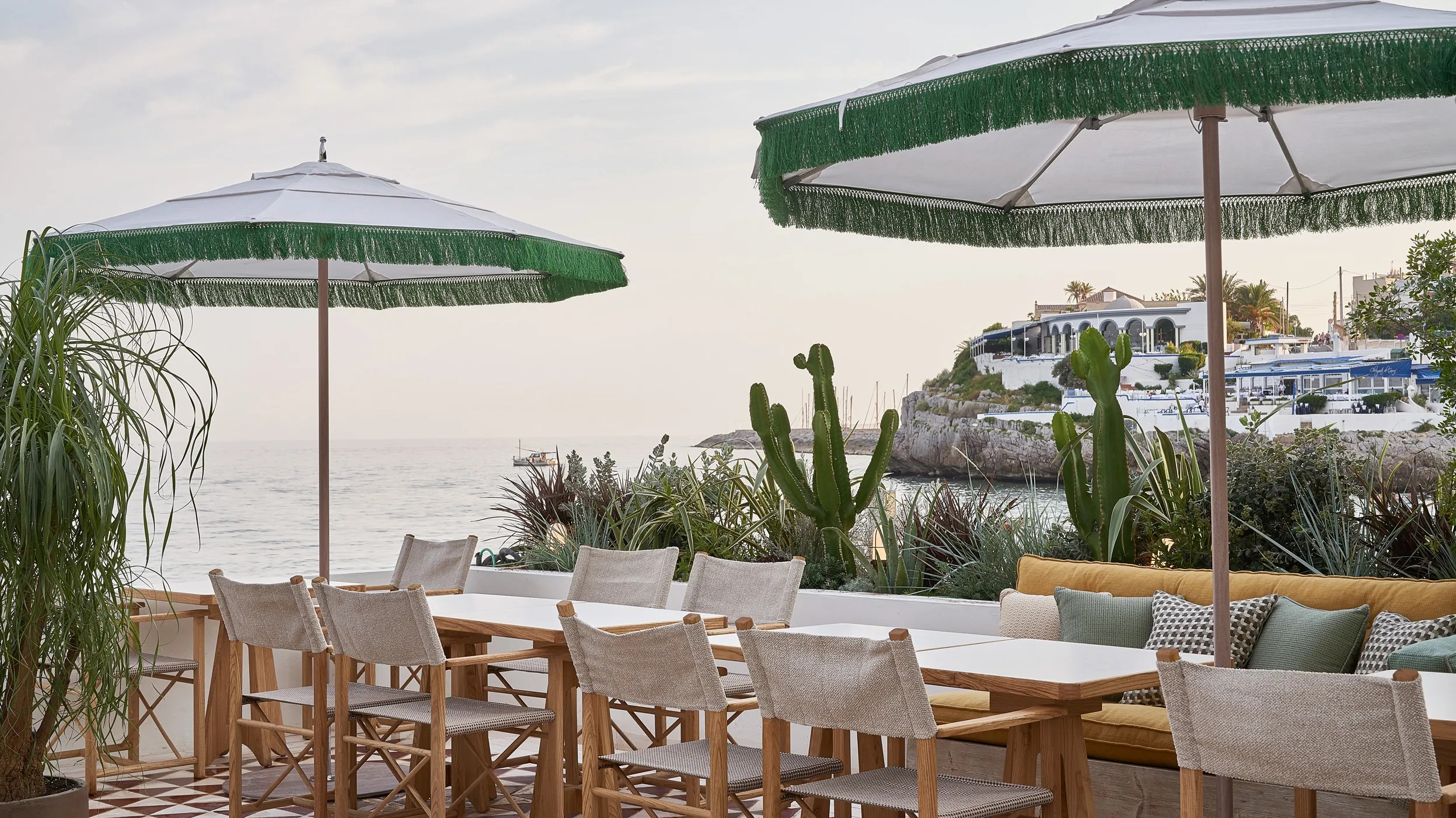 beach house pool, 2019 by george byrne. Little Beach House Barcelona Hotel Review Conde Nast Traveler