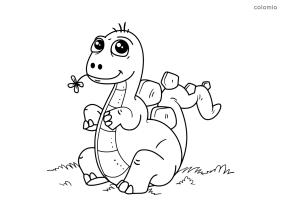 24 Beste Dinosaurier Malvorlage Kinder   Beste Malvorlagen