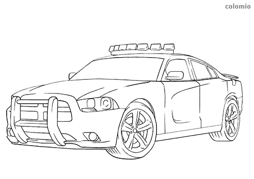 Police Coloring Pages Free Printable Police Coloring Sheets