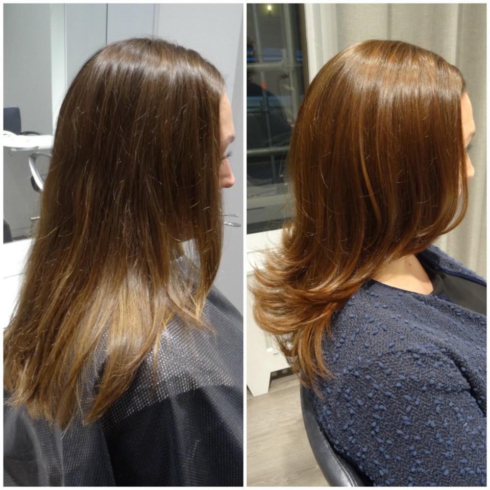 Princess Kates hårfärg inspirerade oss till att ge Linda en ny nyans med mer koppar och guld ...