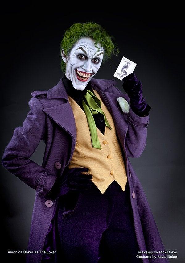 Makeup Artist Rick Baker Creates Epic Joker Halloween