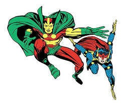Mister Miracle and Big Barda Romance