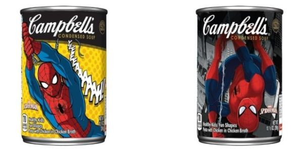 Marvel39s SpiderMan Getting His Own Campbell39s Soup Label