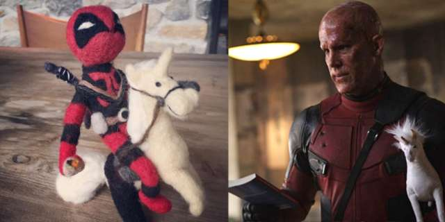 Deadpool Celebrates National Unicorn Day