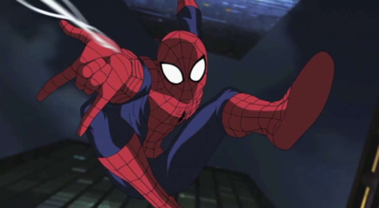new spider man animated