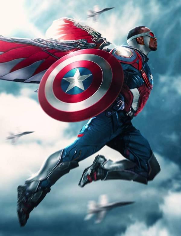 Falcon Captain America Infinity War