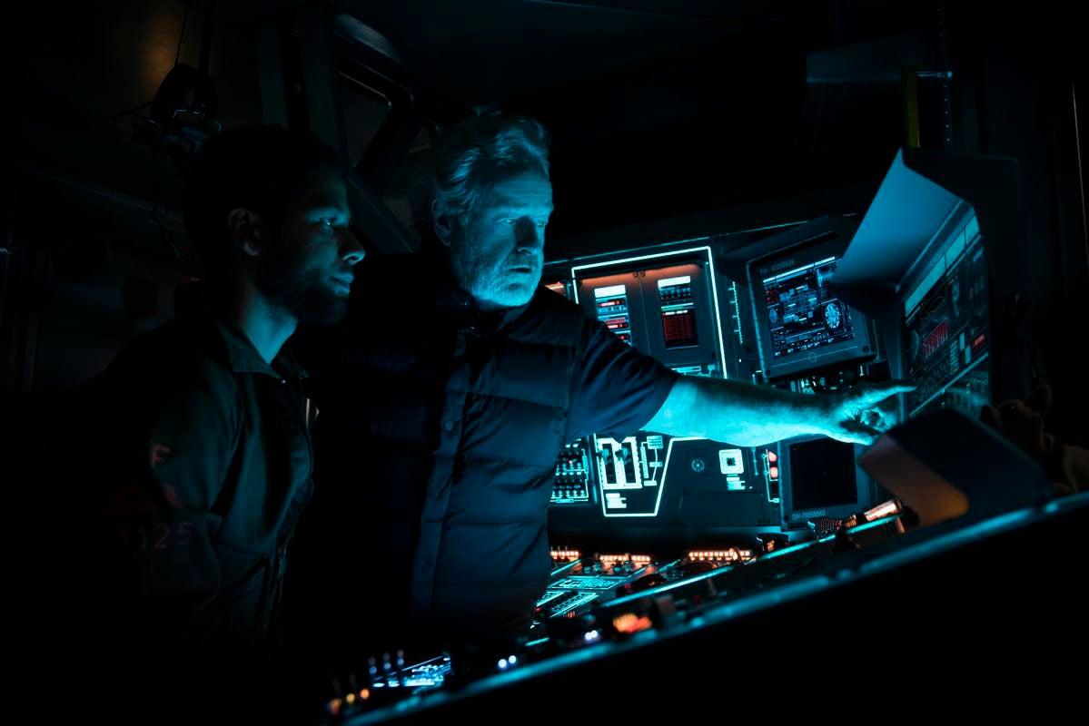Alien: Covenant, diffusa online la foto di tutto il cast riunito!