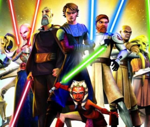 Star Wars The Clone Wars Revival Announced At Sdcc