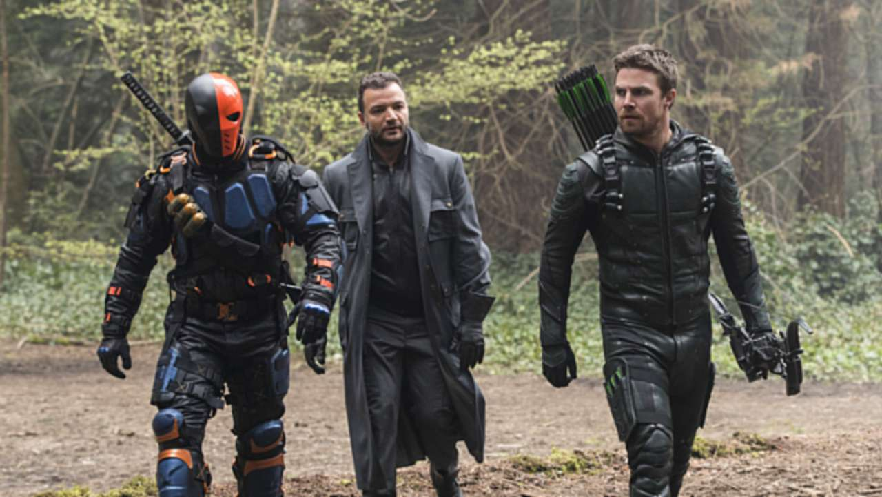 Image result for arrow deathstroke finale