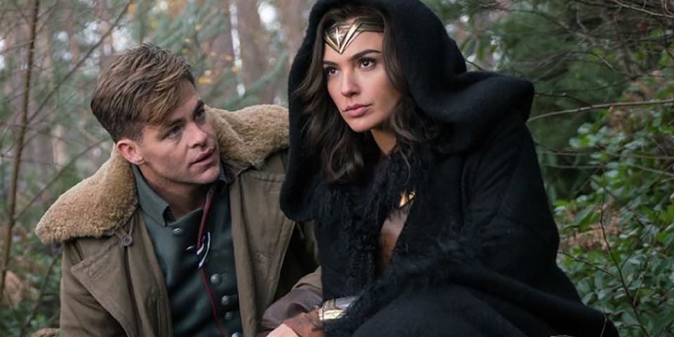 Image result for wonder woman steve trevor