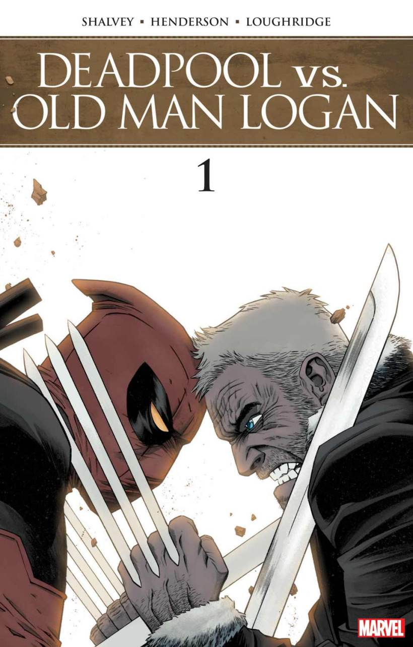 Image result for deadpool vs old man logan comic