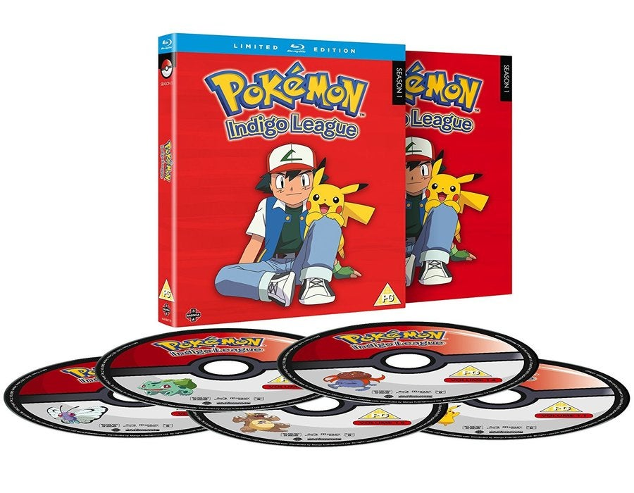 Pokemon Blu-ray