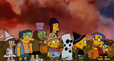 Image result for it's the grand pumpkin milhouse