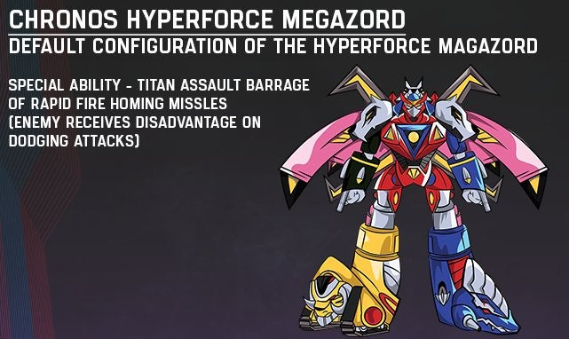 Power Rangers Hyperforce' Megazord Revealed