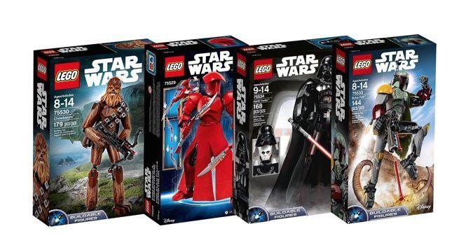 Save 20 On Lego Star Wars Figure Building Kits
