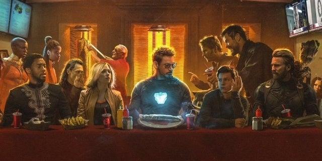 Avengers Infinity War The Last Shawarma Imagined in Fan Art