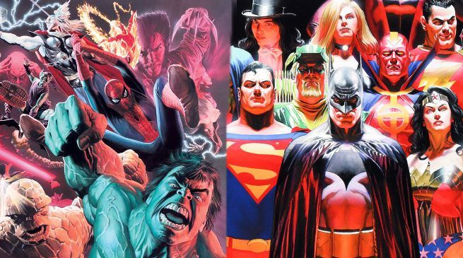 And Alex Ross Explains Difference Between Marvel Dc Characters