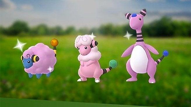 pokemon go adds shiny