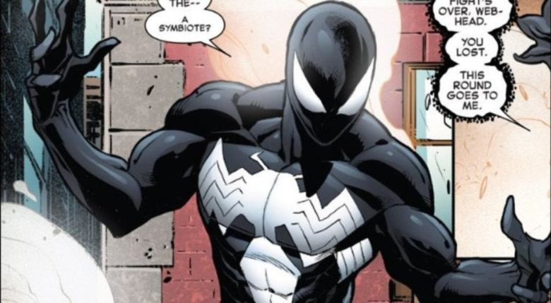 Image result for symbiote spider-man comic