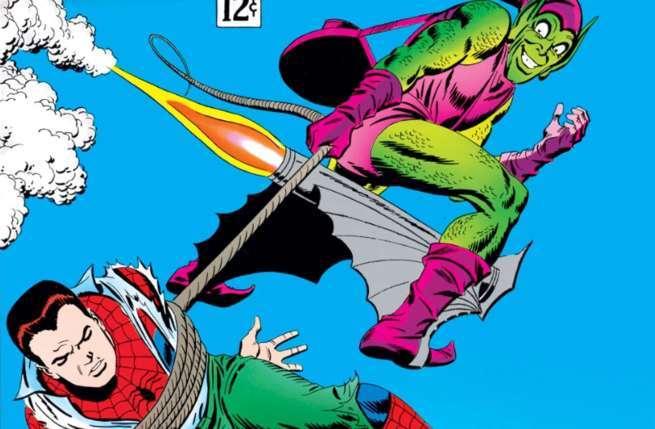 2 Goblin Spider Green Man Amazing Glider