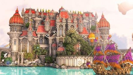 minecraft fantasy castle dragon fortress impressive gateway huge most royal gateux boasts own its dragons comicbook
