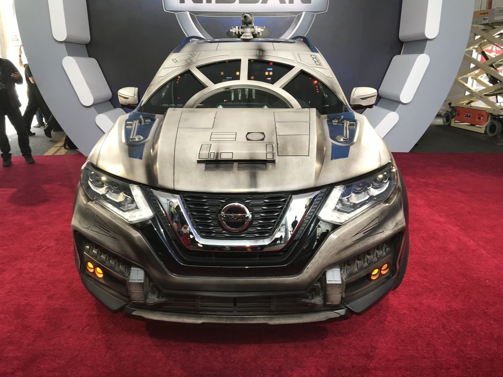Nissan Innovates Solo A Star Wars Story Premiere With