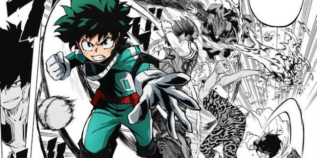 anime like my hero academia