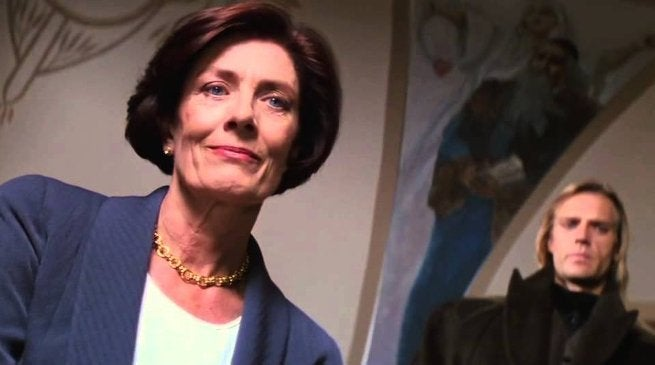 Vanessa Redgrave as Max in Mission Impossible 1996