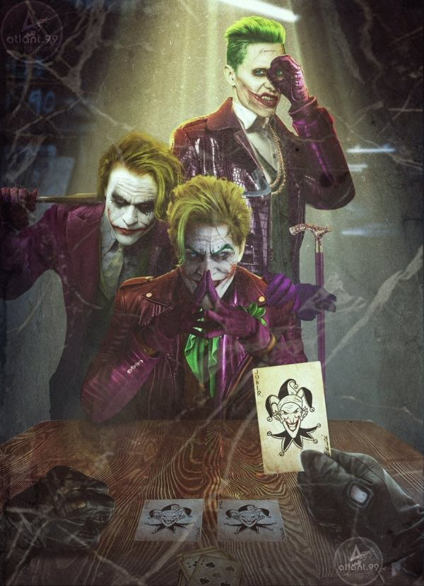 Three Jokers Batman Cover