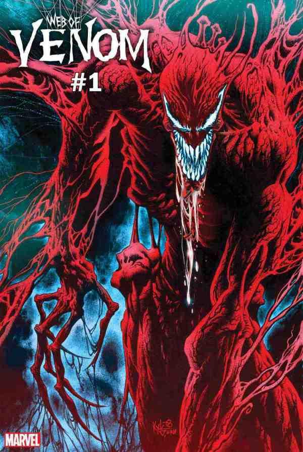 Marvels Teases Return of Carnage in 39Web of Venom Carnage