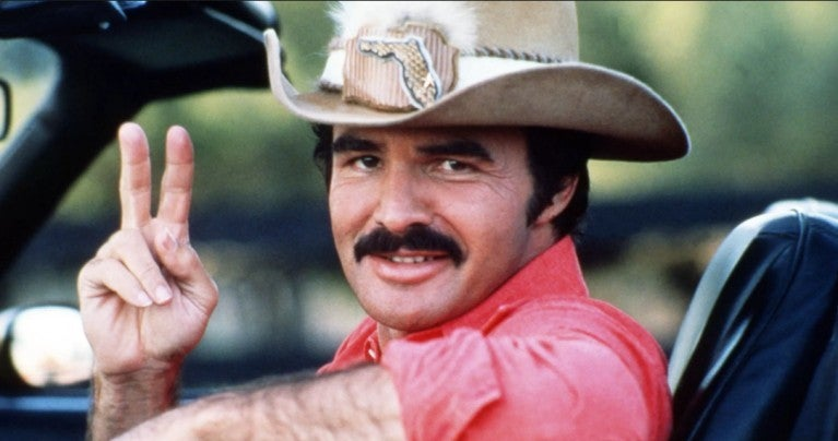 Burt Reynolds Smokey and the bandit