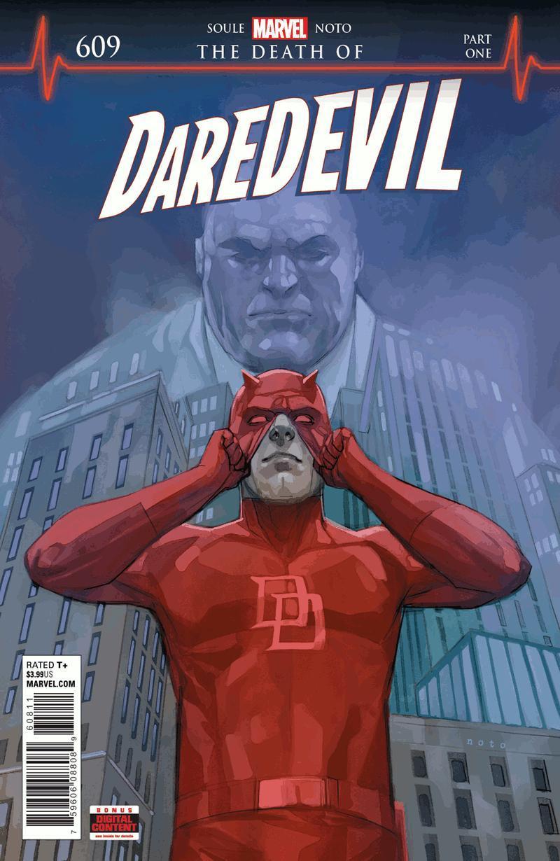 Marvel Announces The Death of Daredevil
