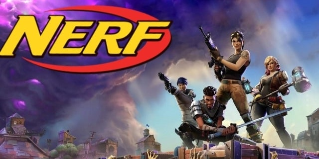 Fortnite Nerf Guns Coming Soon