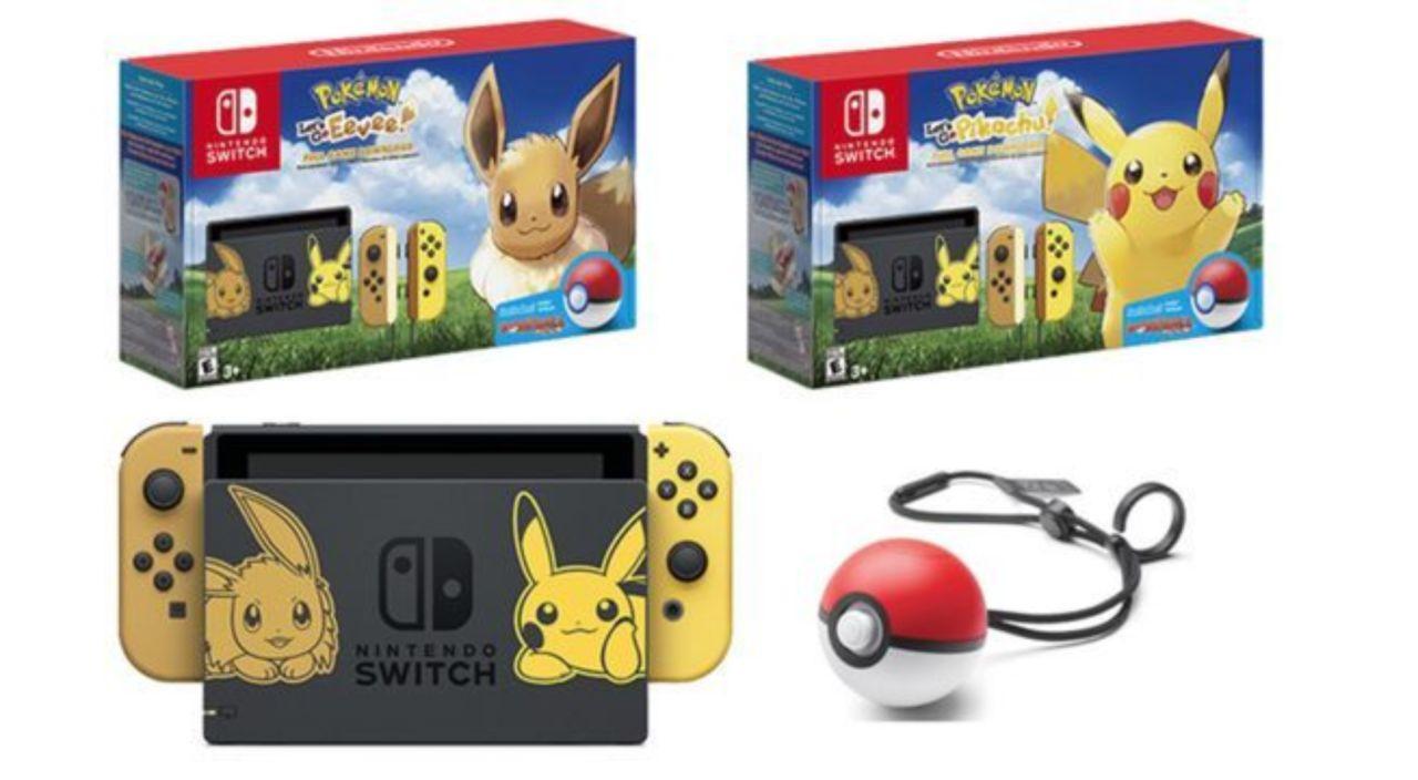 Nintendo Switch 'Pokemon Let's Go' Pikachu and Eevee Bundles Finally Hit Amazon