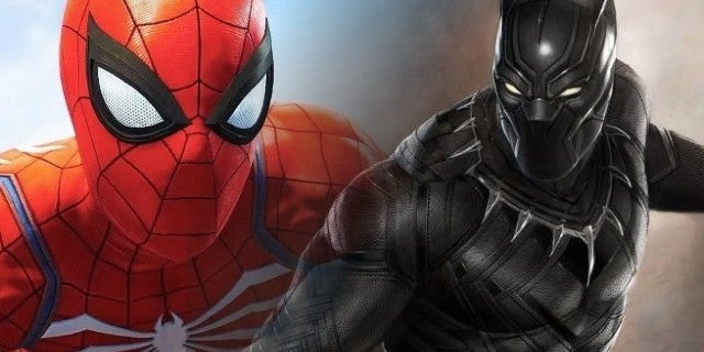 Marvels Spider Man References Black Panther And King