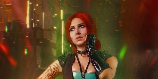 'The Witcher's' Triss Re-Imagined In 'Cyberpunk 2077' Thanks to This Cosplay