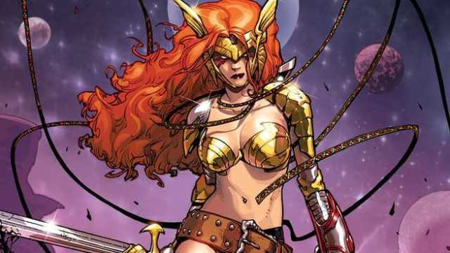 Who Are The Asgardians of the Galaxy - Angela