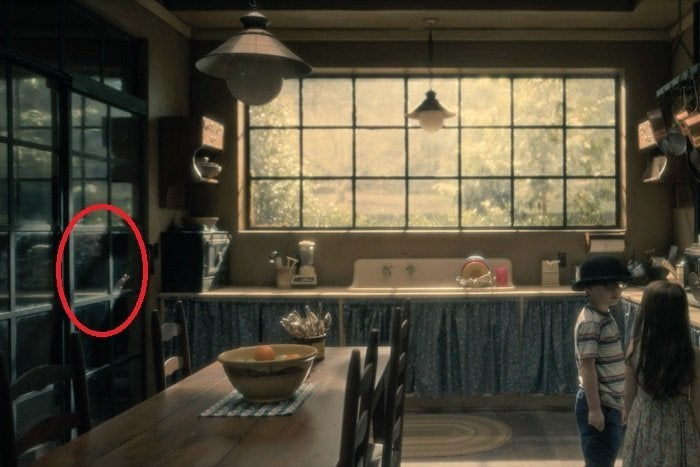 glass door kitchen cabinet counter chairs here are all the 'haunting of hill house' ghosts you ...