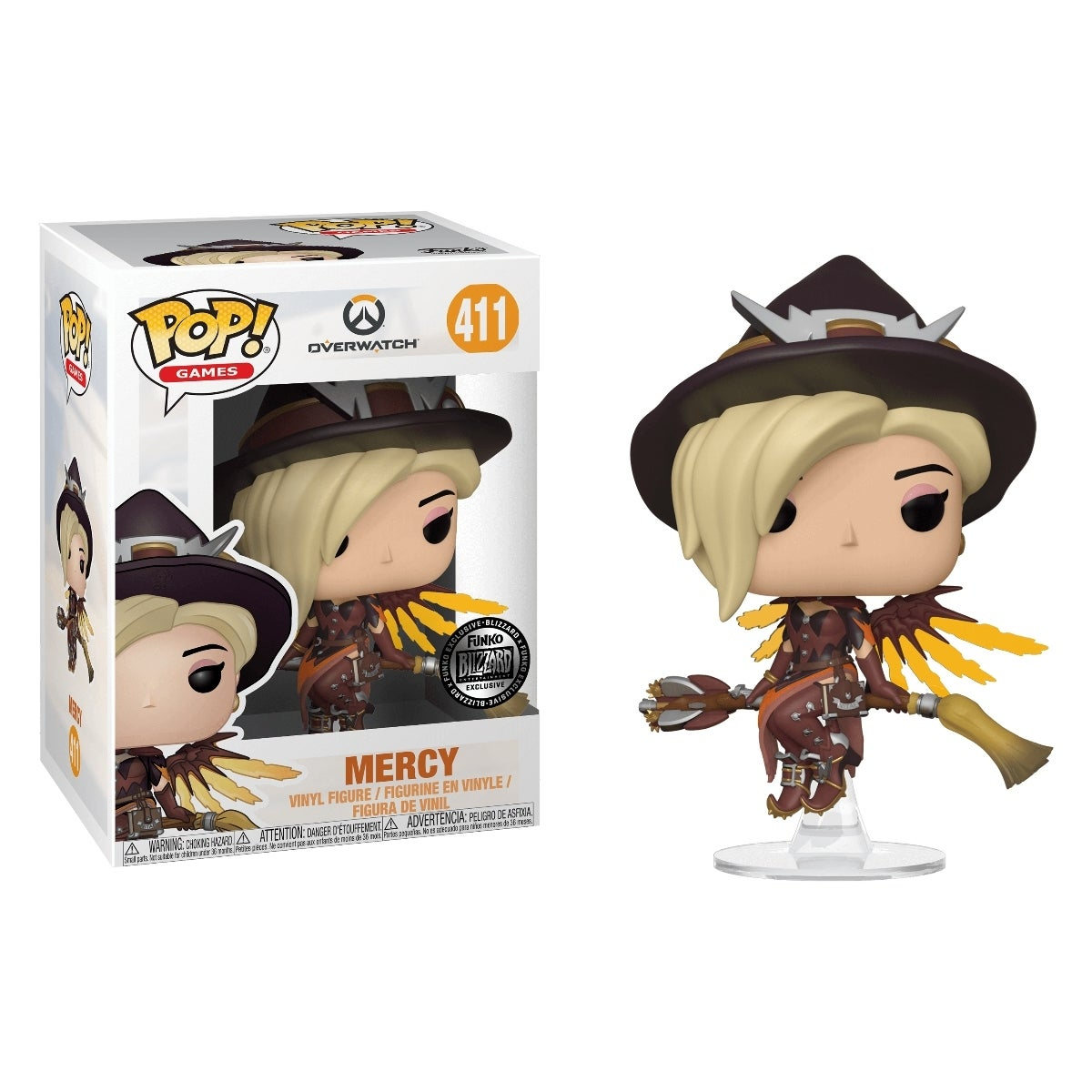 Exclusive Overwatch Halloween Pop Vinyls Now Available