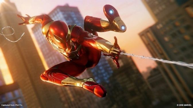 Resultado de imagem para spider man ps4 iron spider turf wars