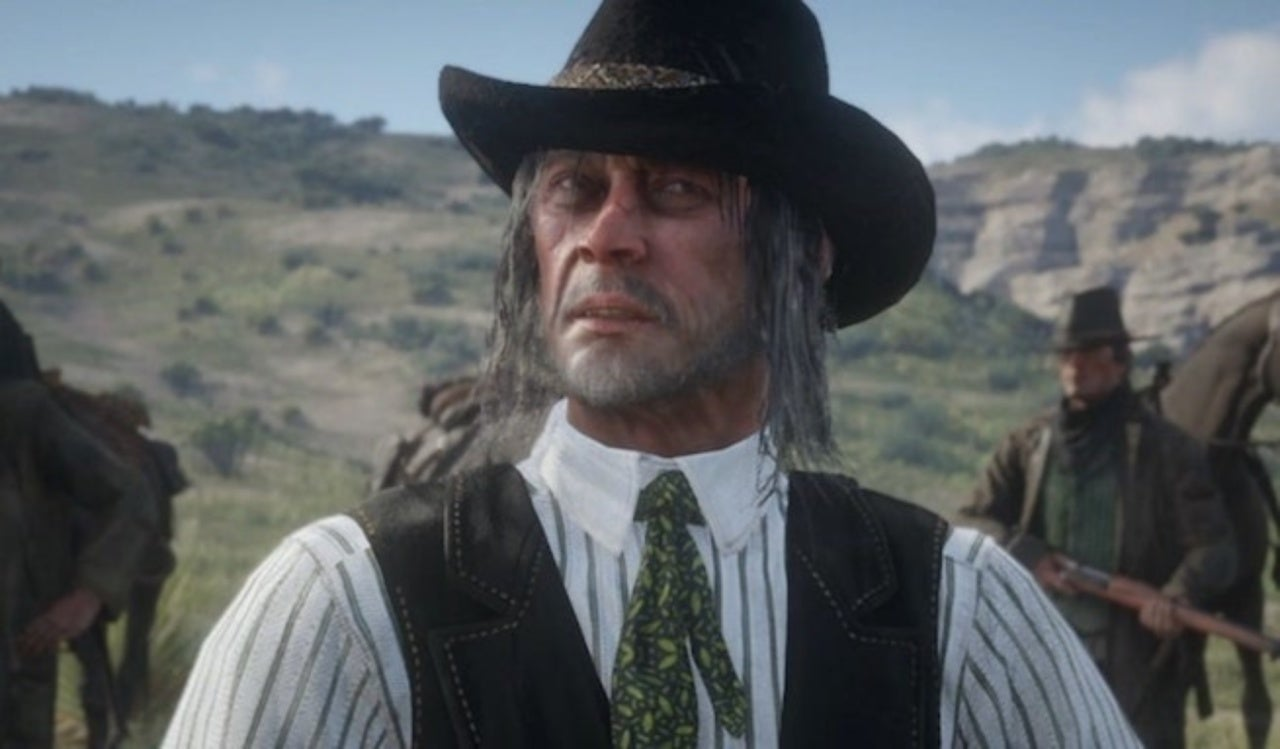 Long Hair Red Dead Redemption 2