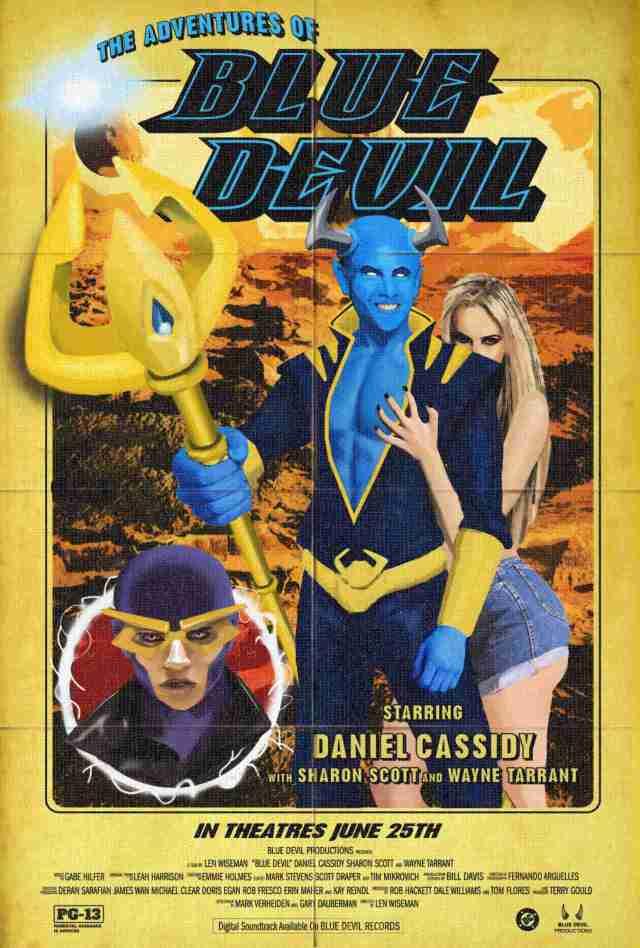 Swamp Thing Blue Devil Movie Poster
