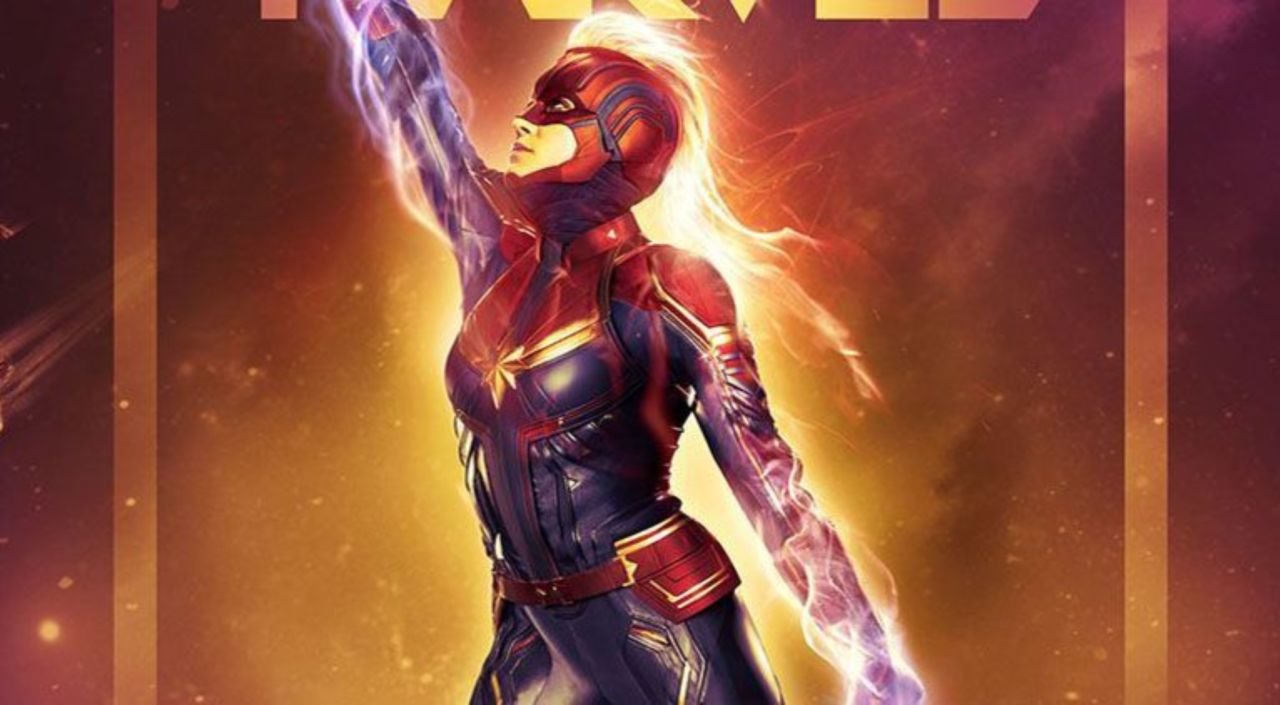 new captain marvel imax poster unveiled